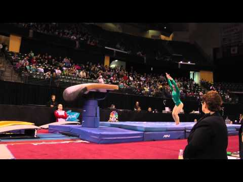 Maegan Chant - Vault Finals - 2012 Kellogg&#039;s Pacific Rim Championships