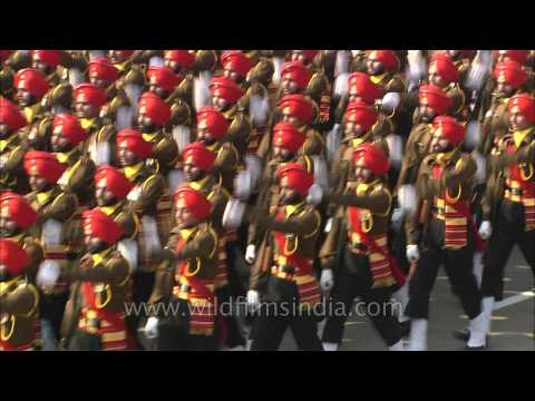Filmed during the Republic Day Parade of India, witness the perfect synchrony of the Indian Armed Forces. The Punjab Regiment of India was formed from the 2nd Punjab Regiment of the British...