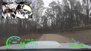100 Ace Wood Rally 2016 SS3 - Gill/Harrell