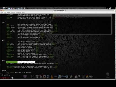hack WEP WPA or WPA2 with wifite Kali Linux