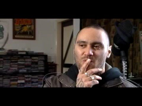 Tiki talks about Ta Moko (the art of tattoo) with I AM TV's Olly