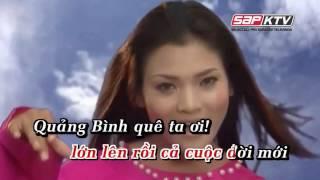 Karaoke - Quảng bình quê ta ơi - [Beat chuẩn] - Yeucahat.mobi