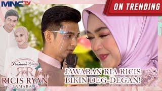 Download lagu BIKIN DEG-DEGAN! INILAH JAWABAN RIA RICIS PADA TEUKU RYAN | HALAQAH CINTA RICIS RYAN