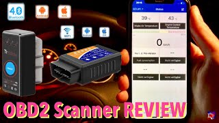 KFZ Fehlersuche mit OBD2 Scanner - WiFi & Bluetooth, iOS & Android - Review Test TrekPow