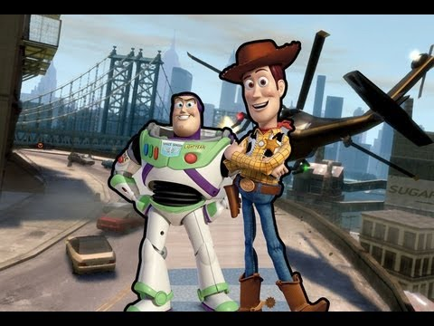 Grand Theft Toy Story (GTA 4 With Buzz and Woody Mods)