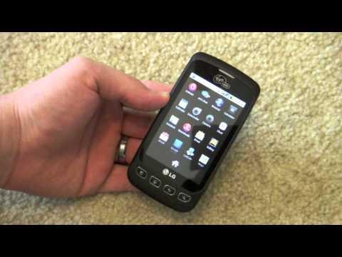 LG Optimus V Hands On - Virgin Mobile