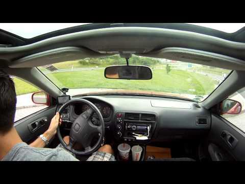 2000 Honda Civic Si EM1 0-125mph [Go Pro]