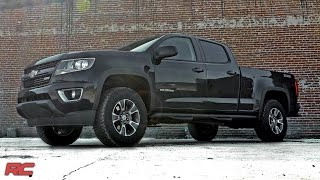 2015-2018 Chevrolet Colorado and GMC Canyon 2-inch Leveling Kit by Rough Country