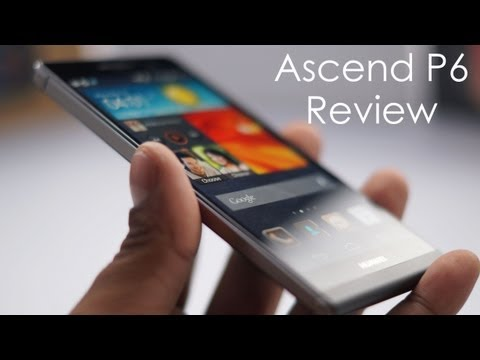 Huawei Ascend P6 (Slimmest Smartphone in the World - 6.18mm) Review