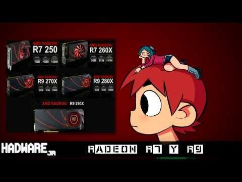 La nueva generacion de tarjetas graficas 2014 de AMD : La Radeon R7 y R9