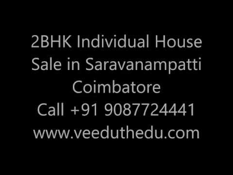 2 BHK Individual House Sale in Saravanampatti Coimbatore