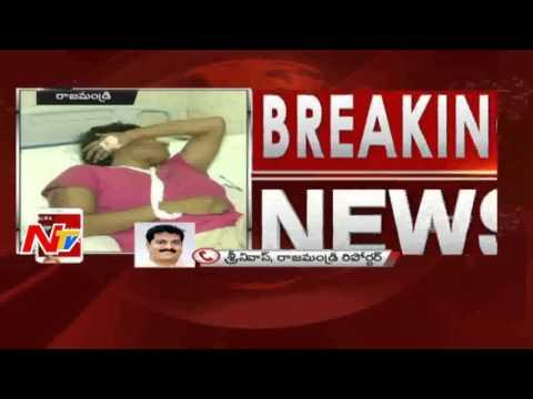 Girl Gang Raped By Three Rowdy Sheeters In Rajahmundry | Breaking News | NTV