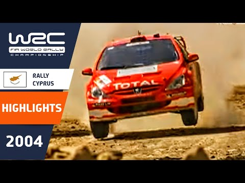 WRC Highlights: Cyprus 2004: 52 Minutes