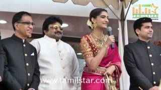 Sonama Kapoor  At Kalyan Jewellers Store Launch