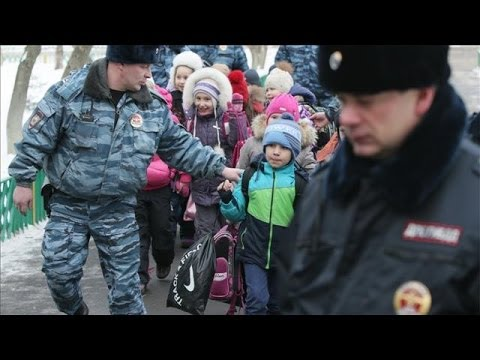 Photos of the Day - School Shooting in Moscow
