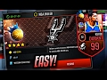 NBA LIVE MOBILE | HOW TO BEAT NBA RULER + GET 99 KD EASY!  BEAT EVERY TYPE! *6 WEEKS IN THE MAKING*