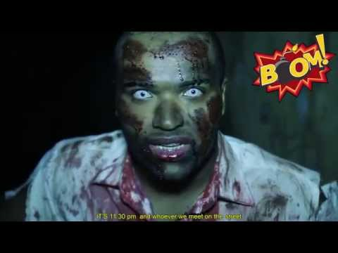 Hidden camera: zombie attack