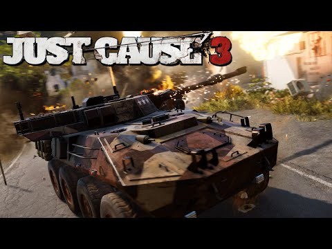 THIS IS MY TANK NOW B*TCH - Just Cause 3 Gameplay! (GIVEAWAY)