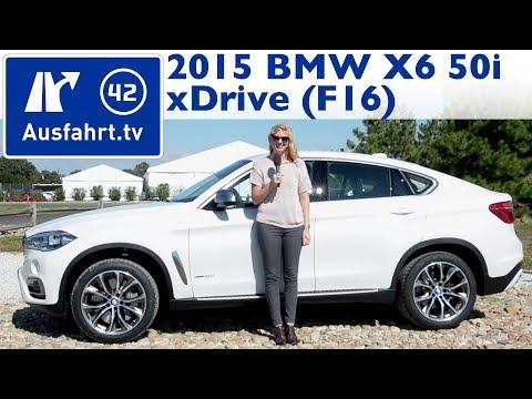 2015 BMW X6 F16 xDrive50i V8 - Fahrbericht - Test - Review - German - Deutsch