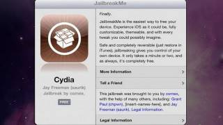 Jailbreak 5.1.1, 4.3.3 Untethered iPad 2,iPhone 4,3GS,iPod Touch iPod Touch 4,3 - JailbreakMe 3.0