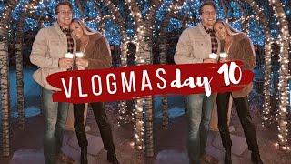 VLOGMAS DAY 10 | CHRISTMAS LIGHTS, GINGERBREAD HOUSES, APARTMENT TOUR