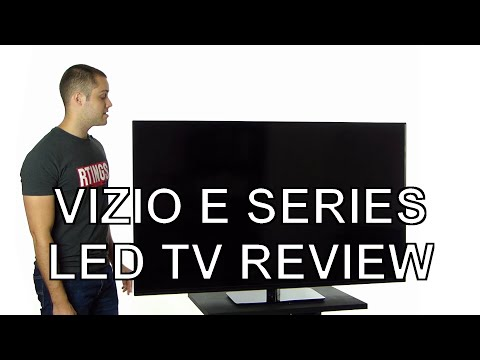 Vizio E Series LED TV Review