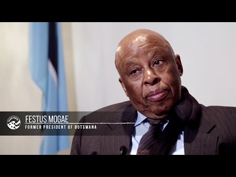 Legacy Project: Former President of Botswana Festus Mogae