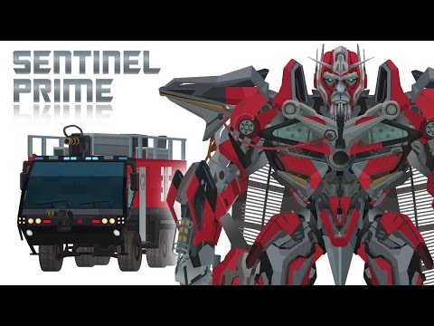 Sentinel Prime - Short Flash Transformers Series video