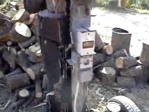 Najbrzi hidraulicni  cepac drva vranje