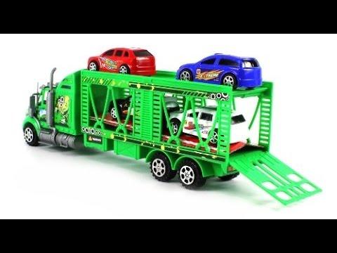 Cami n juguete transportador de coches camiones juguetes for Coches para bebes