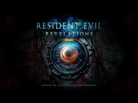 RESIDENT EVIL REVELATIONS [PC][HD]: Die Demo im Let's Play!