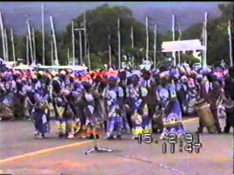 Kamuzu Banda crop inspection tour 1991