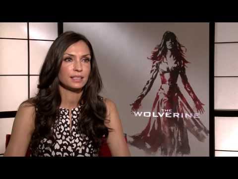 FAMKE JANSSEN THE WOLVERINE 2013 INTERVIEW