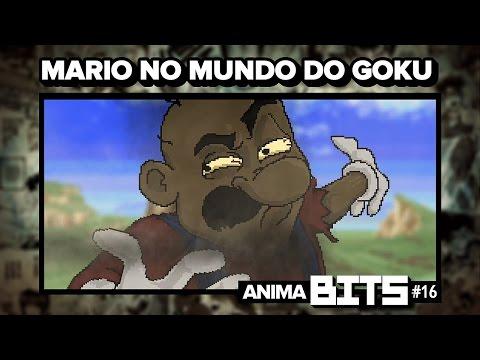 MARIO NO MUNDO DO GOKU