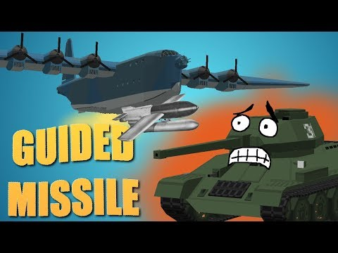 Minecraft Flans Mod: T&P Devblog 42 - GUIDED MISSILES IN WW2?!