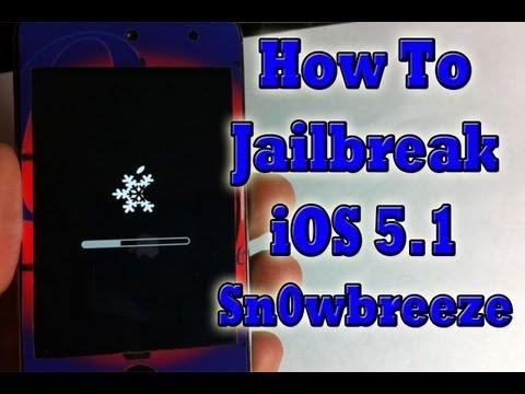 New Jailbreak iOS 5.1 & Preserve Baseband iPhone 4,3Gs iPod Touch 4G,3G & iPad - Sn0wbreeze