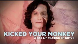 """Kicked Your Monkey"" — A Bad Lip Reading of Gotye"