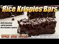 Dark Chocolate Salted Peanut Rice Krispies Bars Recipe PREVIEW