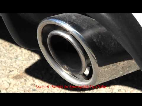 2013 FIAT 500 ABARTH Revving Stock Exhaust Sound With Turbo Whistle Engine Sound
