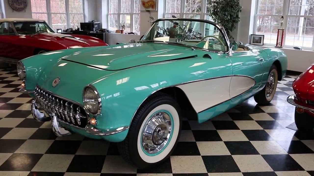 1957 Corvette Roadster For Sale Cascade Green Fully