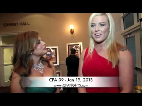 2012 FLORIDA MMA AWARDS   CFA FIGHTER KELSEY DE SANTIS 2