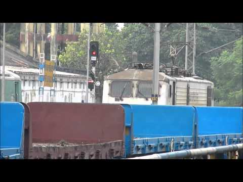 Date taken: 27th September, 2013 Finally after a long wait fastest locomotive of Indian Railways i.e. WAP-5 appears in South Eastern Railway with 12151 Dn Sa...