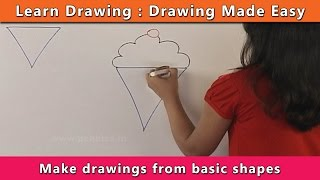 Drawings from Basic Shapes | Learn Drawing For Kids | Learn Drawing Step By Step For Children