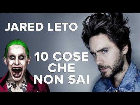 10 COSE CHE NON SAI su JARED LETO (Joker) - #Sapevatelo
