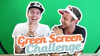 GREEN SCREEN CHALLENGE!