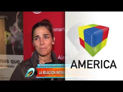 Juana Viale habló de las escenas hot con el actor Luciano Castro