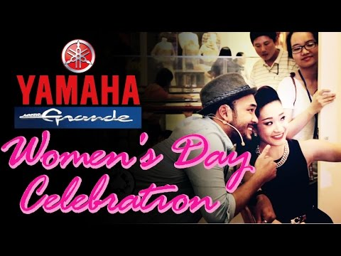 Yamaha Grande - Women's Day at Aeon Mall