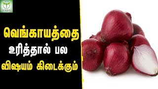Health Benefits of Onion - Healthy Foods || Tamil Health & Beauty Tips