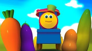 bob sayuran kereta api | belajar nama sayuran | Bob The Train Vegetables | Learn Vegetables With Bob