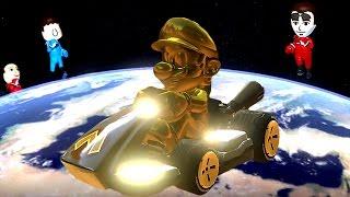 Mario Kart 8 Deluxe - Online Races (Full Race Gameplay) + Golden Mario Vs. All